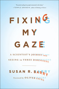 Fixing my gaze book cover
